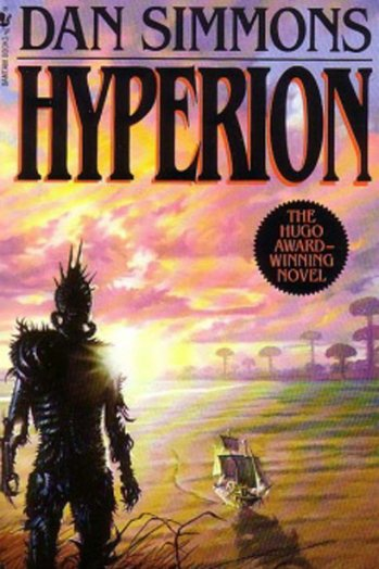 Cover of Dan Simmons' _Hyperion_