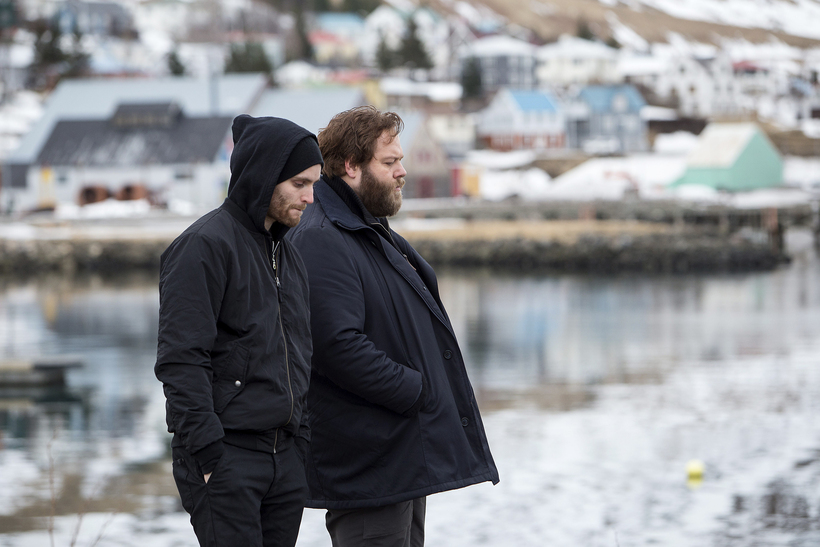 Two dudes from a small Icelandic harbor town in Trapped