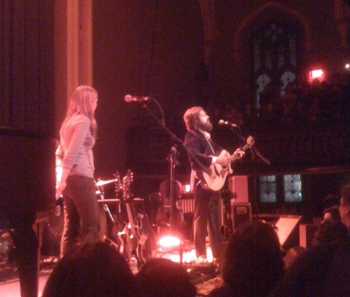 Iron & Wine at Babeville, by LibraRonin