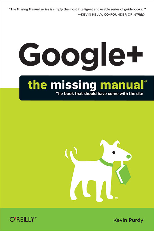 Cover of Google+: The Missing Manual